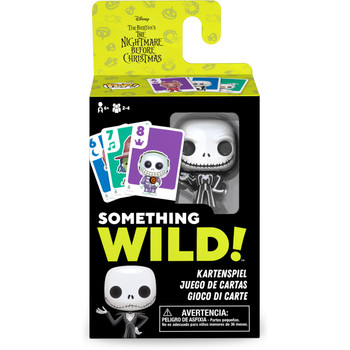 Funko Nightmare Before Christmas Something Wild Pop! Card Game - Deutsch / Espanol / Italiano Edition