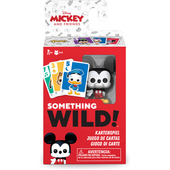 Funko Mickey and Friends Something Wild Pop! Card Game - Deutsch / Espanol / Italiano Edition