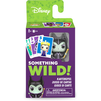 Funko Disney Villains Something Wild Pop! Card Game - Deutsch / Espanol / Italiano Edition