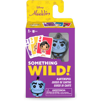 Funko Aladdin Something Wild Pop! Card Game - Deutsch / Espanol / Italiano Edition