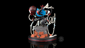 QMX Spider-Man: Miles Morales Q-Fig Elite Diorama