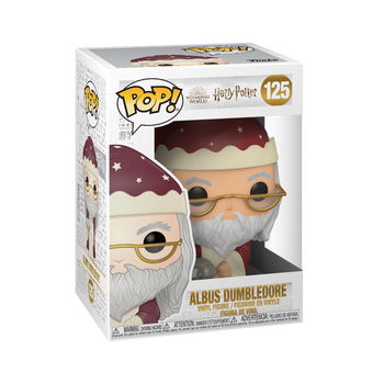 Funko Harry Potter Holiday Dumbledore Pop! Vinyl Figure