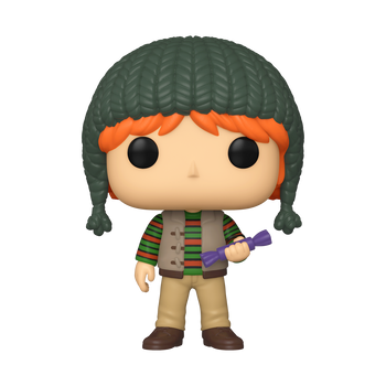 Funko Harry Potter Holiday Ron Pop! Vinyl Figure