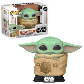 Funko Star Wars: The Mandalorian Child with Bag Pop! Vinyl Figure