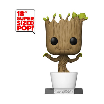 Funko Guardians of the Galaxy Dancing Groot 18-Inch Pop! Vinyl Figure