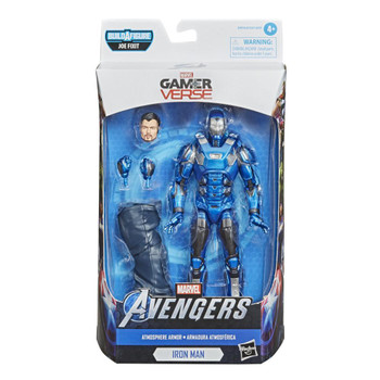 Hasbro Marvel Legends Series Gamerverse 6-inch Collectible Atmosphere Iron Man Action Figure
