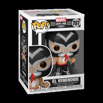 Funko Marvel Lucha Libre Edition El Venenoide Pop! Vinyl Figure