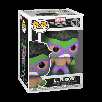 Funko Marvel Lucha Libre Edition El Furioso Pop! Vinyl Figure