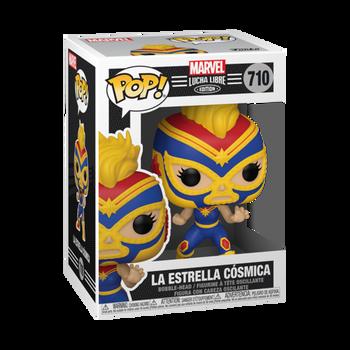 Funko Marvel Lucha Libre Edition La Estrella Cósmica Pop! Vinyl Figure