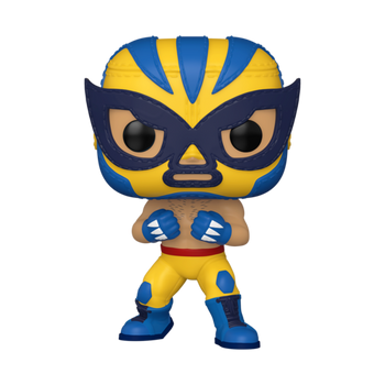 Funko Marvel Lucha Libre Edition El Animal Indestructible Pop! Vinyl Figure
