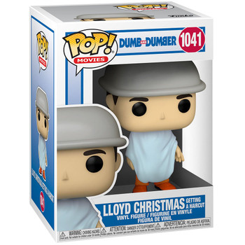 Funko Dumb and Dumber Lloyd Christmas Getting a Haircut Pop! Vinyl Figure
