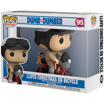 Funko Dumb and Dumber Lloyd Christmas with Bicycle Pop! Vinyl Figure