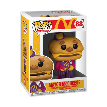 Funko McDonald's Mayor McCheese Pop! Vinyl Figure