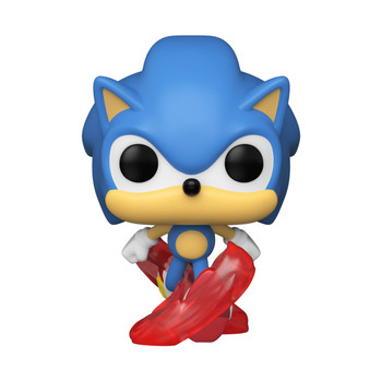 Funko Sonic the Hedgehog 30th Anniversary Running Sonic Pop! Vinyl Figure