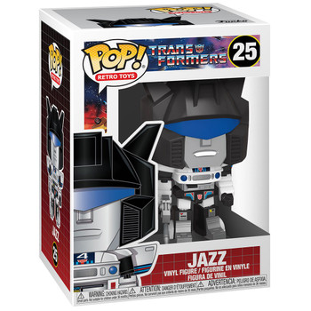 Funko Transformers Jazz Pop! Vinyl Figure