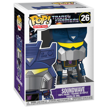 Funko Transformers Soundwave Pop! Vinyl Figure