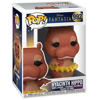 Funko Disney Fantasia Hyacinth Hippo Pop! Vinyl Figure