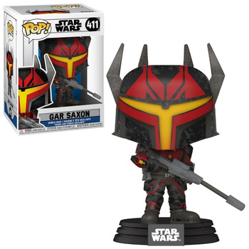 Funko Star Wars: The Clone Wars Gar Saxon Pop! Vinyl Figure