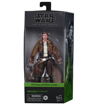 Star Wars The Black Series Han Solo (Endor Trenchcoat) 6-Inch Action Figure