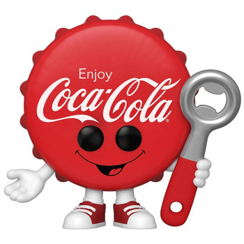 Funko Coca-Cola Coke Bottle Cap Pop! Vinyl Figure