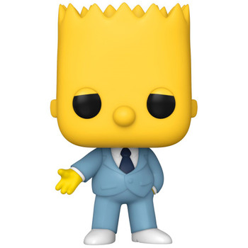 Funko Simpsons Gangster Bart Pop! Vinyl Figure