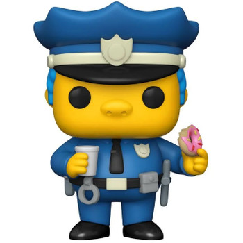 Funko Simpsons Chief Wiggum Pop! Vinyl Figure