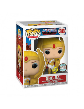 Funko Masters of the Universe Classic She-Ra Glow In The Dark Pop! Vinyl Figure