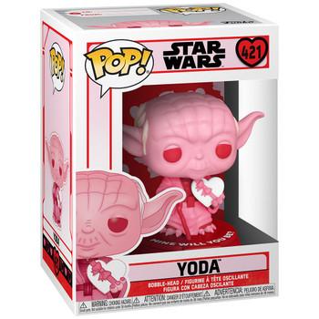 Funko Star Wars Valentines Yoda with Heart Pop! Vinyl Figure