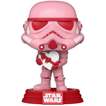 Funko Star Wars Valentines Stormtrooper with Heart Pop! Vinyl Figure