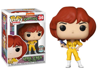Funko Teenage Mutant Ninja Turtles April O'Neil Pop! Vinyl Figure