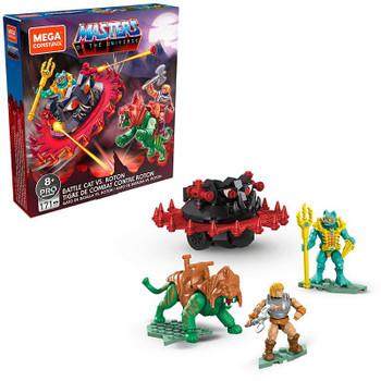 Mega Construx Masters of the Universe Battle Cat Vs. Roton