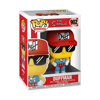 Funko Simpsons Duffman Pop! Vinyl Figure