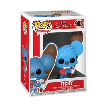 Funko Simpsons Itchy Pop! Vinyl Figure
