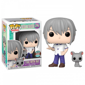Funko Fruits Basket Yuki Sohma with Rat Exclusive Pop! Vinyl Figure