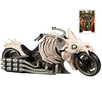 DC Multiverse Dark Nights Death Metal Batcycle Vehicle