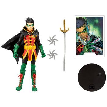 DC Multiverse Damian Wayne Robin 7-Inch Action Figure