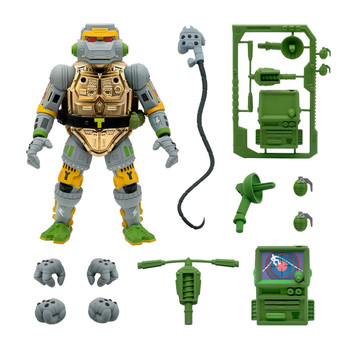 [PRE-ORDER] Super7 Teenage Mutant Ninja Turtles Ultimates Metalhead 7-Inch Action Figure