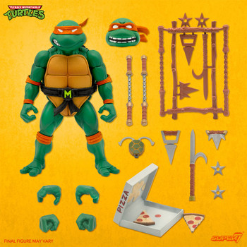 [PRE-ORDER] Super7 Teenage Mutant Ninja Turtles Ultimates Michelangelo 7-Inch Action Figure