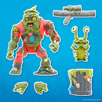 [PRE-ORDER] Super7 Teenage Mutant Ninja Turtles Ultimates Muckman and Joe Eyeball 7-Inch Action Figure