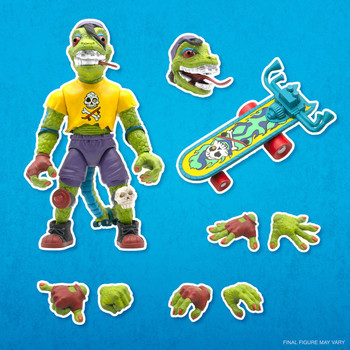 [PRE-ORDER] Super7 Teenage Mutant Ninja Turtles Ultimates Mondo Gecko 7-Inch Action Figure