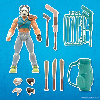 [PRE-ORDER] Super7 Teenage Mutant Ninja Turtles Ultimates Casey Jones 7-Inch Action Figure