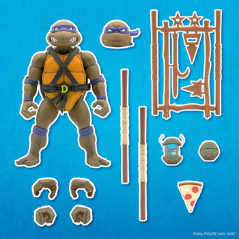 [PRE-ORDER] Super7 Teenage Mutant Ninja Turtles Ultimates Donatello 7-Inch Action Figure