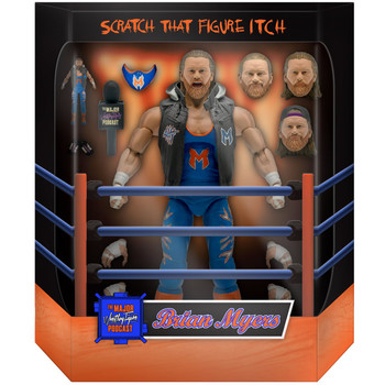 [PRE-ORDER] Super7 Major Wrestling Figure Podcast Ultimates Brian Myers 7-Inch Action Figure
