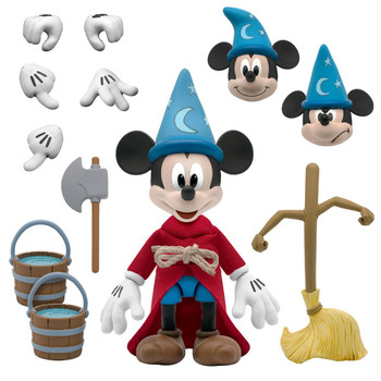 [PRE-ORDER] Super7 Disney Ultimates Fantasia Sorceror's Apprentice Mickey Mouse Action Figure