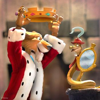 [PRE-ORDER] Super7 Disney Ultimates Robin Hood Prince John with Sir Hiss Action Figure