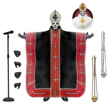 [PRE-ORDER] Super7 Ghost Ultimates Papa Emeritus I 7-Inch Action Figure