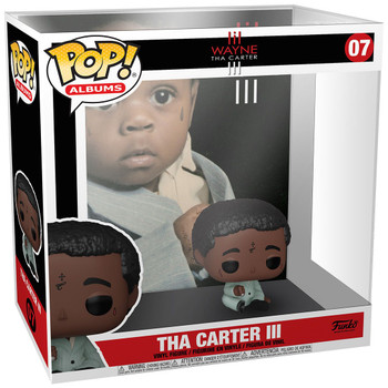 Funko Lil Wayne Tha Carter III Pop! Album Figure with Case