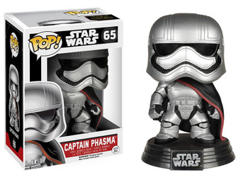 Funko Star Wars: The Force Awakens - Captain Phasma Pop! Vinyl Figure