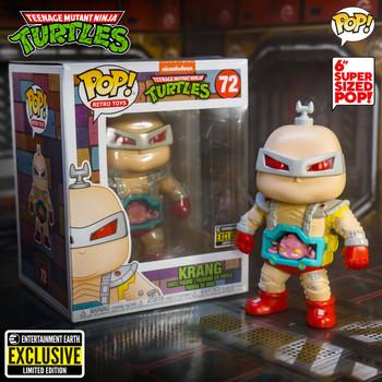 Teenage Mutant Ninja Turtles Krang 6-Inch Pop! Vinyl Figure - Entertainment Earth Exclusive