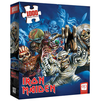 "Iron Maiden ""The Faces of Eddie"" 1000 Piece Puzzle"